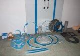 Polotovary - duralové a ocelové výřezy (laser, vodní paprsek)