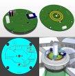 návrh elektroniky rotátoru