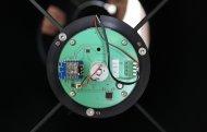 skutečná deska elektroniky rotátoru