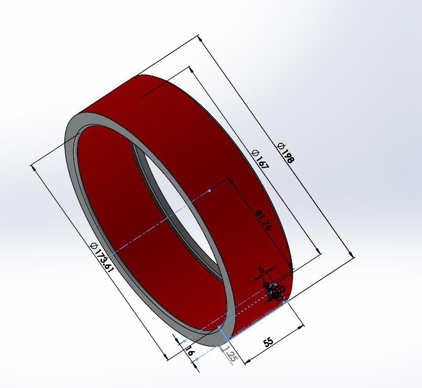 rozměry vnějšího kroužku jehlového ložiska
