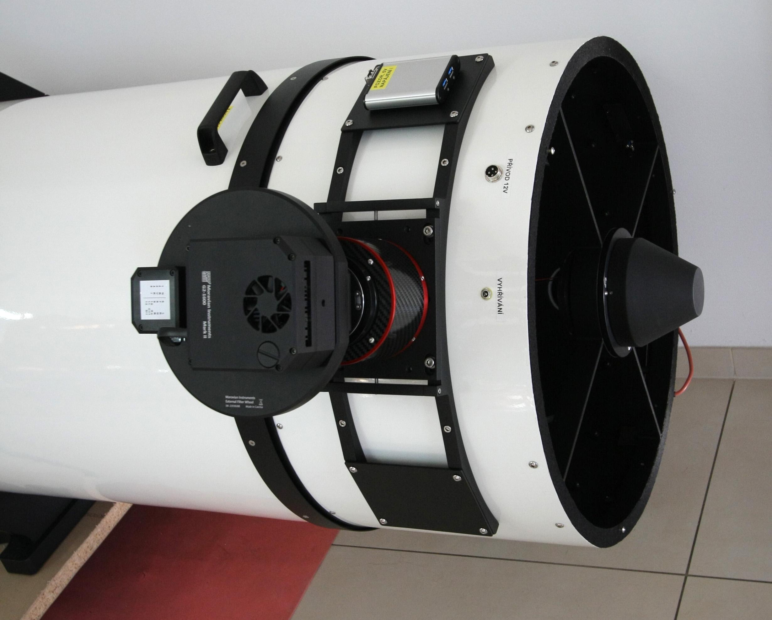 "přední otočný díl tubusu, G2-1600, ASA Wynne 3"" + AAF3 fokusér"