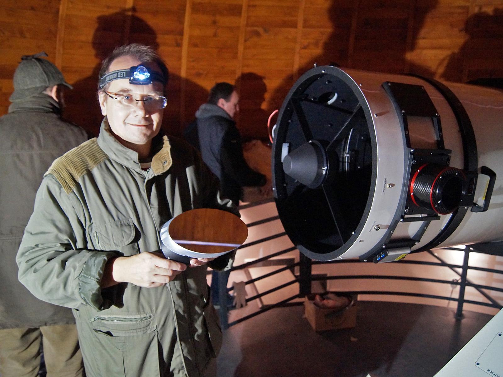 140mm sekundární zrcátko